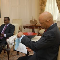 Photo Digest » Courtesy Call on the Governor General - April 2011