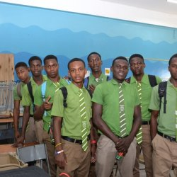 Photo Digest » Norman Manley High - Oct 2015 - Schools Outreach